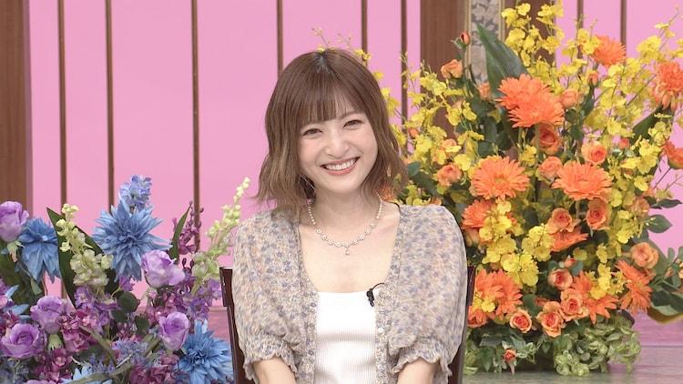 日本テレビ系「行列のできる法律相談所」より、神田沙也加。(c)日本テレビ