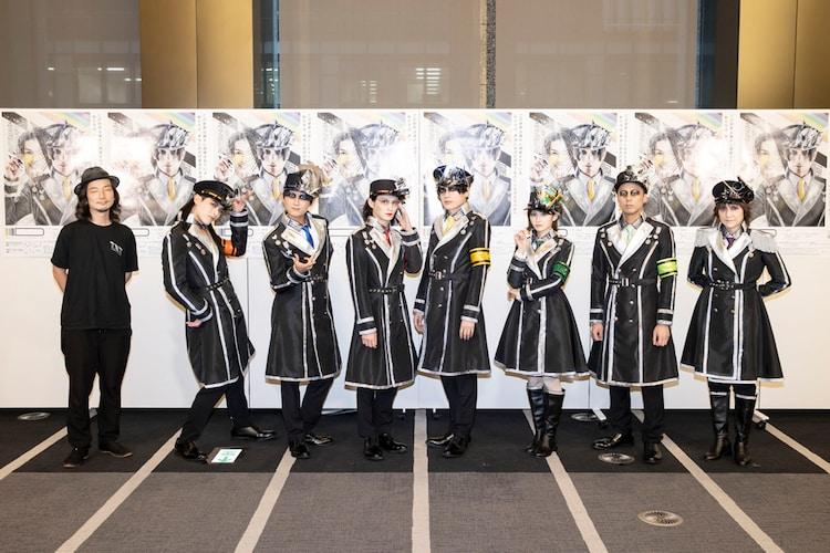 高橋悠也×東映 シアタープロジェクト TXT vol.2「ID」囲み取材より。(撮影:金山フヒト)