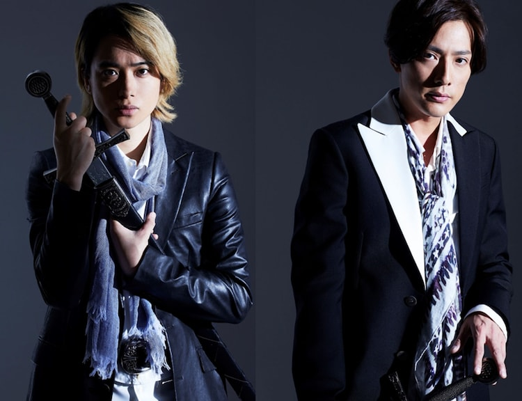 左から戸塚祥太(A.B.C-Z)、内博貴。