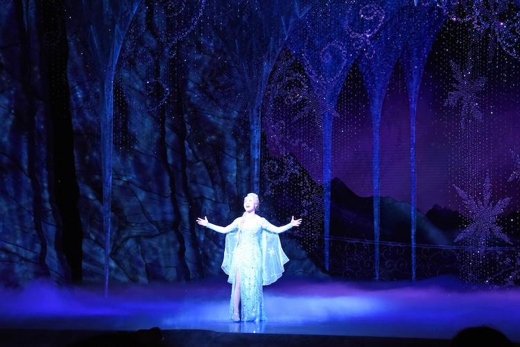 ディズニーミュージカル「アナと雪の女王」より。