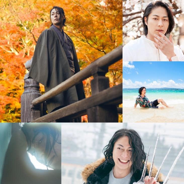 成松慶彦 1st写真集「息吹 ibuki」より。