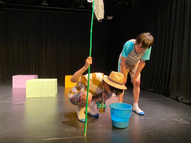 ソキュウ 第五.五回公演「蟻のプール」より。