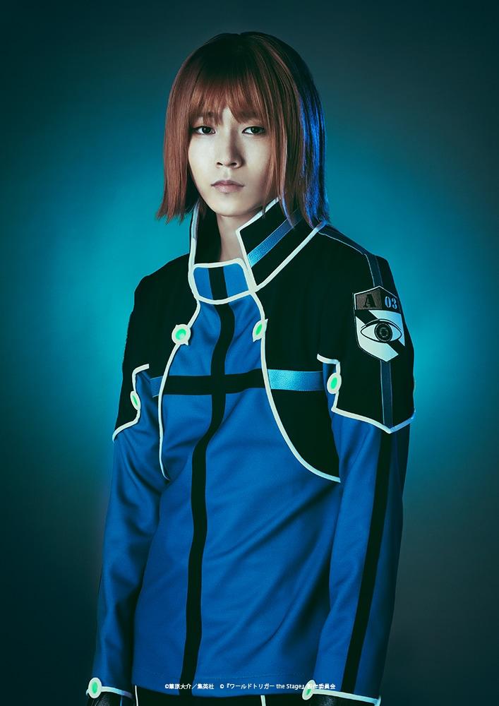 宮尾颯扮する菊地原士郎。