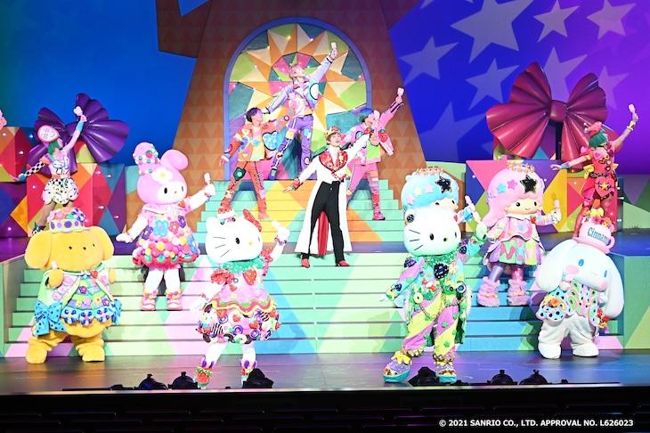 「Sanrio Kawaii ミュージカル『From Hello Kitty』」ゲネプロより。