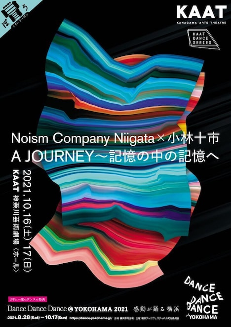 「Noism Company Niigata×小林十市『A JOURNEY~記憶の中の記憶へ~』」ビジュアル