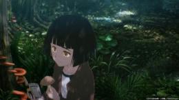 アニメ「7SEEDS」より、ナツの登場シーン。