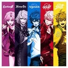 ゲームアプリ「アルゴナビス from BanG Dream! AAside(ダブルエーサイド)」ビジュアル