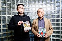 左から佐藤竜雄、藤咲淳一。