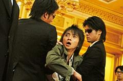 「カイジ 人生逆転ゲーム」より、伊藤開司役を演じる藤原竜也。