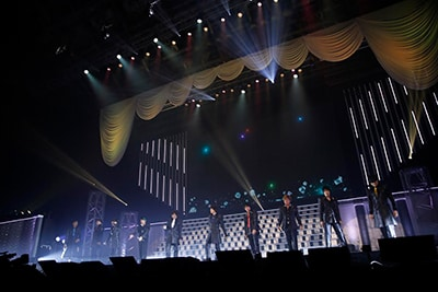 「B-PROJECT~鼓動*アンビシャス~ BRILLIANT*PARTY」の様子。