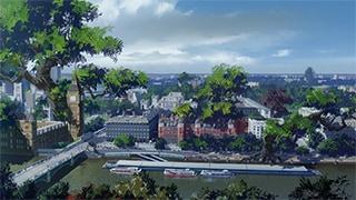 ロンドンの裏側に広がるというリバース・ロンドンの風景。