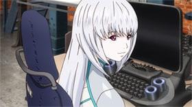 世話好きで清楚なユリ(CV:種﨑敦美)は、正真正銘本物のロボット。そのことは周囲に秘密だと勘違いしているキリルは、たびたび無意味なかばい方をしている。