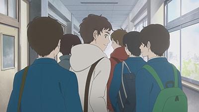 劇場アニメ「どうにかなる日々」より、「澤先生と矢ヶ崎くん」。