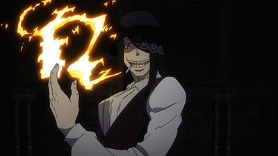 アニメ「炎炎ノ消防隊」より、ジョーカー。