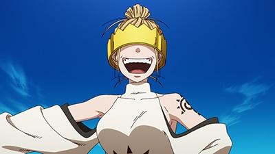 アニメ「炎炎ノ消防隊」より、ハウメア。