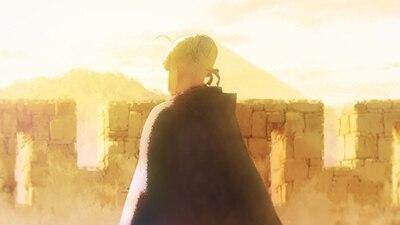 「劇場版 Fate/Grand Order -神聖円卓領域キャメロット- 後編 Paladin; Agateram」より。
