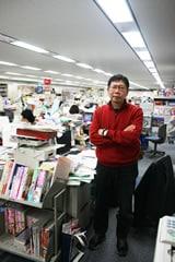 月刊flowers編集長、武者正昭氏。