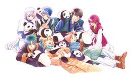 ずっと一緒に旅をしてきたヨナ、ハク、四龍、ユン。