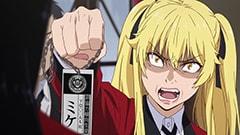 アニメ「賭ケグルイ」より、早乙女芽亜里。