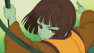 関根明良演じるアナク。第4話「緑の四月」ではアナクが手にした王冠を巡って、多くのキャラクターによるバトルが展開する。