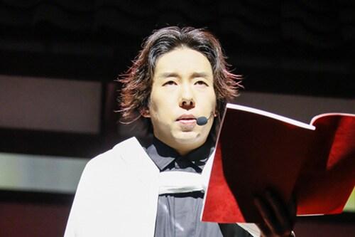 日野聡演じる煉獄杏寿郎。