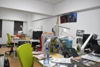 原泰久の仕事場。