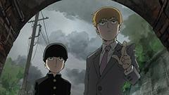 テレビアニメ「モブサイコ100」より。