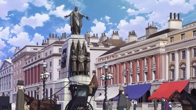 アニメ「憂国のモリアーティ」より。