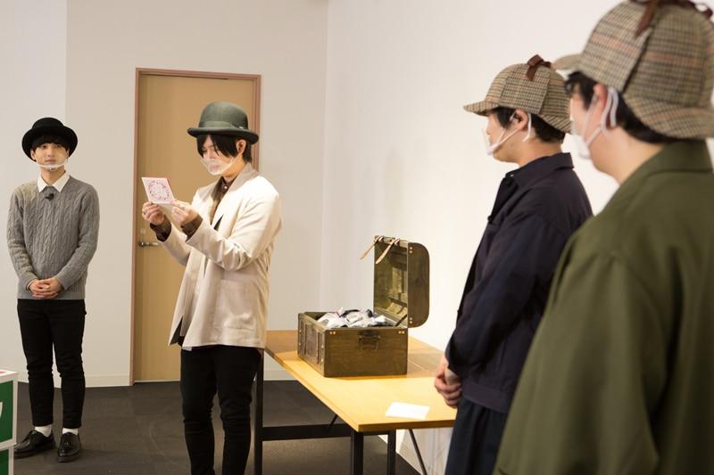 左から小林千晃、斉藤壮馬、古川慎、小野友樹。