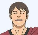 須賀光雄(CV:浪川大輔) / 「父親の会社が不渡りを出した」と嘘をつき、ミナレから50万円を騙し取って消える。しかし、のちにミナレのラジオを聴き、再び接触してくる大胆不敵な男。