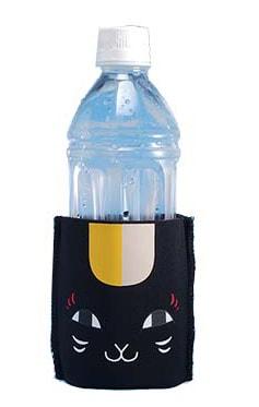 「黒ニャンコペットボトルホルダー」