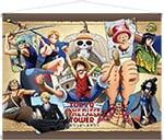 期間中、東京ワンピースタワーで販売されるアニメ20周年記念「Cruise History」のタペストリー。