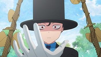 TVアニメ「死神坊ちゃんと黒メイド」より。