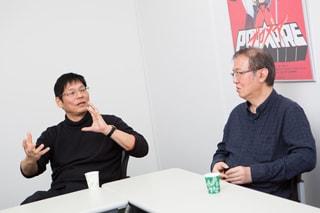 左から堀川憲司、大塚雅彦。