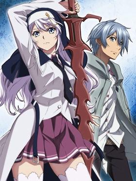 OVA「ストライク・ザ・ブラッドⅣ」メインビジュアル。左が香菅谷雫梨・カスティエラ。
