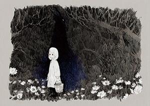 「とつくにの少女」イラスト