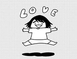 「岡崎さんは自分を恋愛対象として見ているのではないか?」と疑う山本さん。(「岡崎に捧ぐ」3巻より)