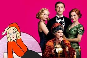 辛酸なめ子が鑑賞、「ブライズ・スピリット~夫をシェアしたくはありません!」愛と笑いであふれた英国喜劇