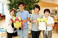 左から田村睦心、櫻井孝宏、榎木淳弥、松本美和。