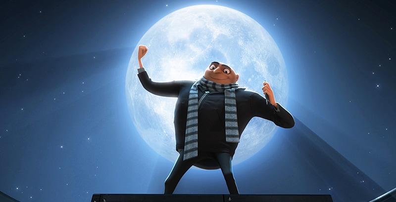「怪盗グルーの月泥棒」