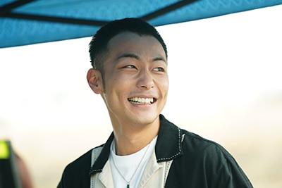 田中俊介演じる藤井元伸。