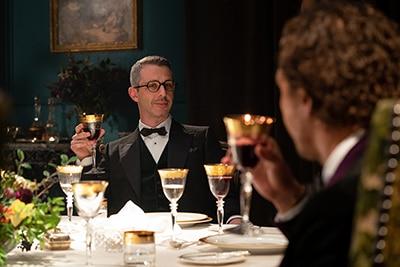 ジェレミー・ストロング演じる、ユダヤ人大富豪マシュー。