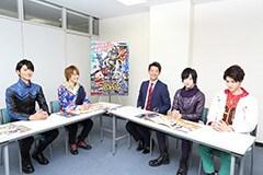 写真左より、山本涼介、西銘駿、竹内涼真、上遠野太洸、稲葉友。