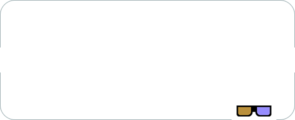 """To the audience:This is NOT a 3D film, but please join our protagonist in putting the glasses on at the right moment."