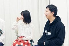 左から山田杏奈、内藤瑛亮。