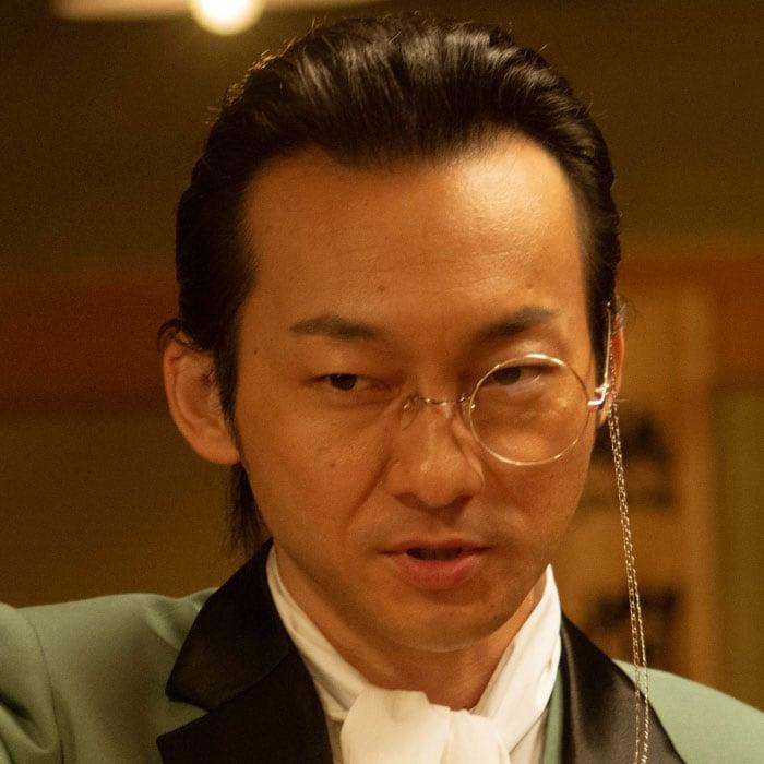 波岡一喜演じるゲーアノート。