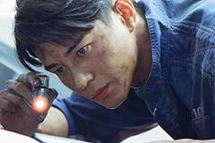 「OVER DRIVE」より、東出昌大演じる檜山篤洋。
