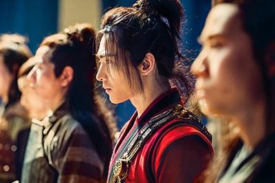 「神龍<シェンロン>-Martial Universe-」より、ヤン・ヤン演じる林動。