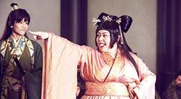 渡辺直美演じる貂蝉(右)が舞を披露するシーンより。