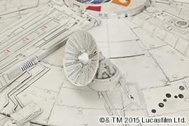 機体左に設置される円形アンテナは、「スター・ウォーズ エピソード6/ジェダイの帰還」で失われている。新作ではいかに⁉︎
